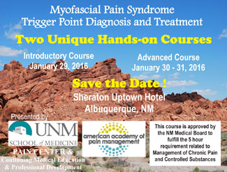 Myofascial Pain Syndrome Trigger Point Diagnosis and Treatment Courses postcard