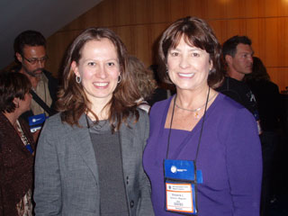 Victoria L Magown with Dr. Carla Stecco, 3rd International Fascia Research Congress